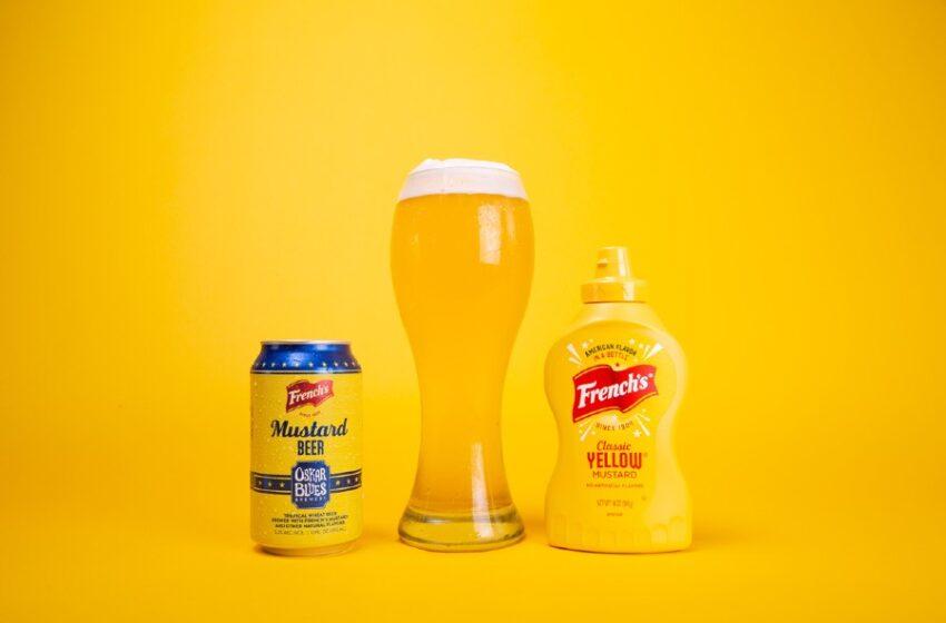 Lanza Oskar Blues Brewery, cerveza de mostaza en colaboración con Frenchs