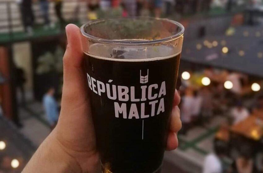 Reabre República Malta hoy 7 de agosto en el #BeerDay 2020