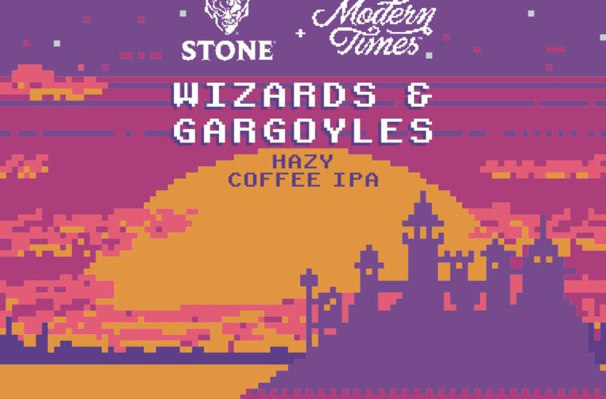 Wizards & Gargoyles Hazy Coffee IPA colaboración de Stone y Modern Times