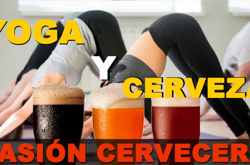 Algo de yoga, una degustación en cuatro tiempos y cerveza artesanal